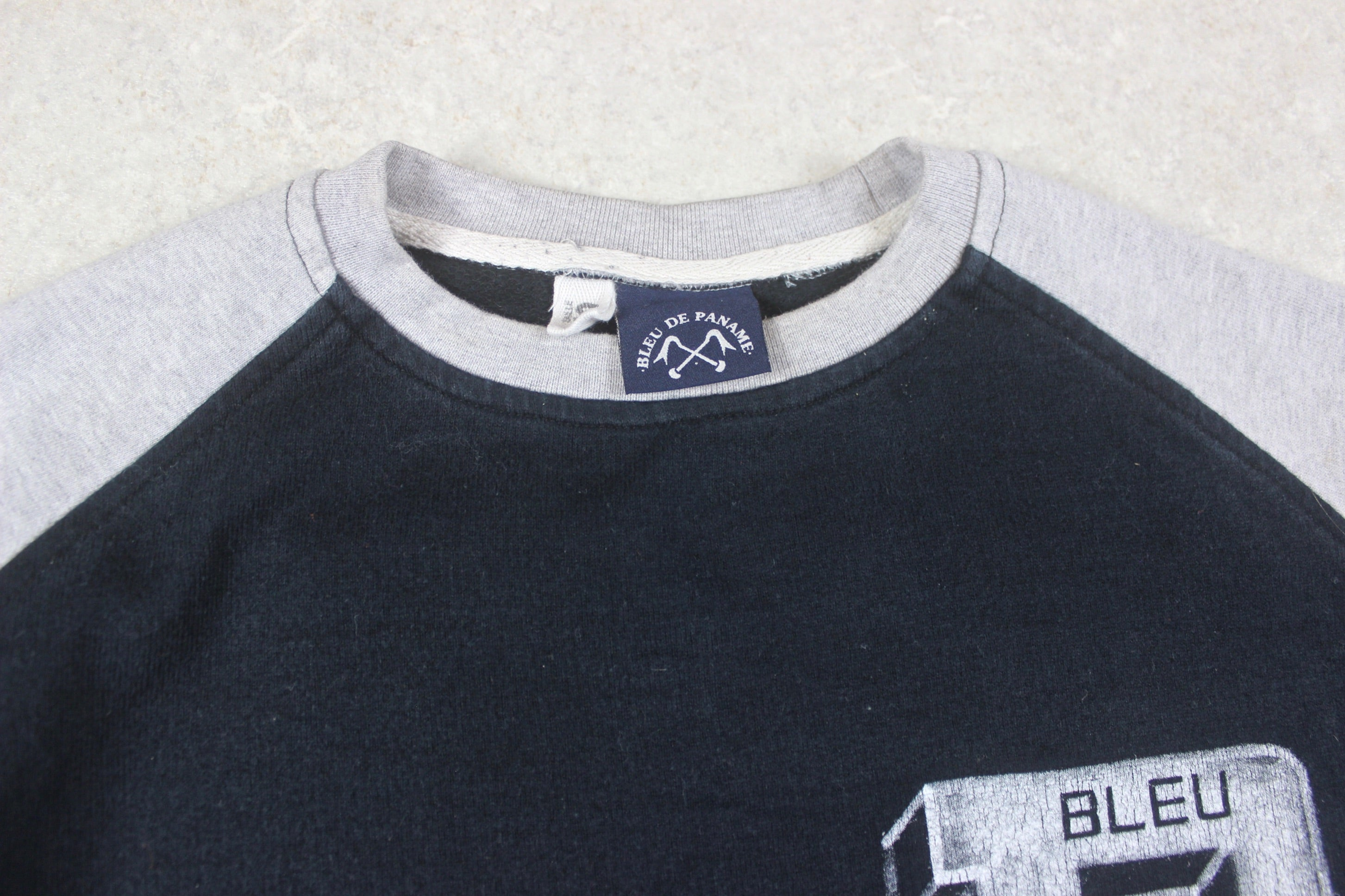 Bleu De Paname - Jumper - Navy Blue/Grey - Small