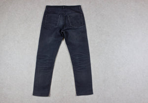 Acne Studios - Town Moon Jeans - Blue/Grey - 30/32 Cropped