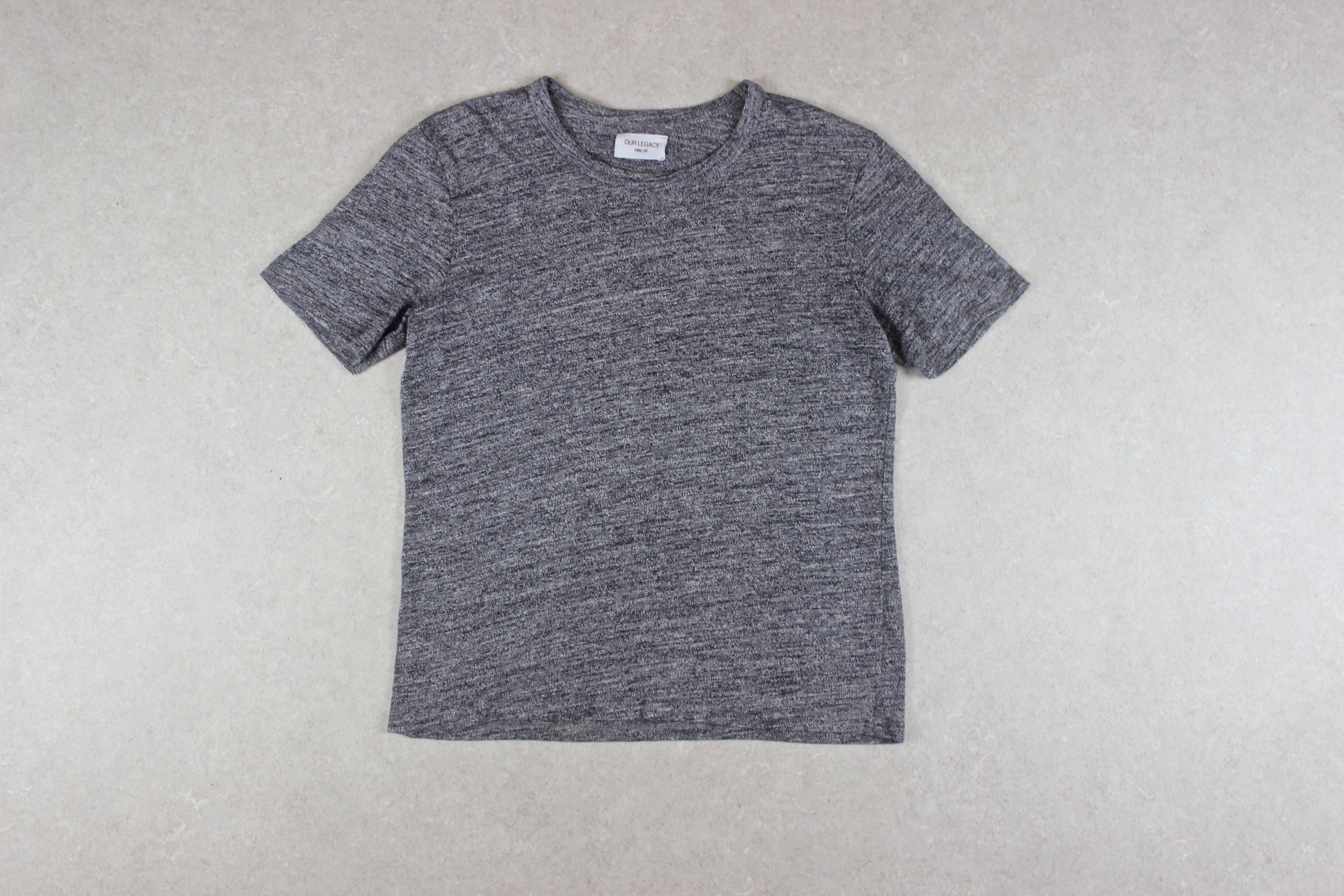 Our Legacy - T Shirt - Grey - 48/Medium