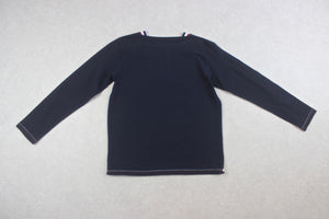 Beams Plus - Long Sleeve T Shirt - Navy Blue - Medium