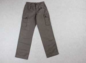MHL Margaret Howell - Cargo Fatigue Trousers - Olive Khaki Green - Medium