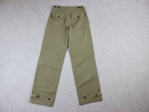 MHL Margaret Howell - Fatigue Trousers - Beige/Khaki - Extra Small