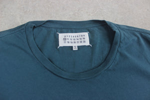 Maison Martin Margiela - T Shirt - Teal Blue Green - 48/Medium