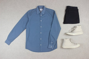 Norse Projects - Shirt - Blue - Small