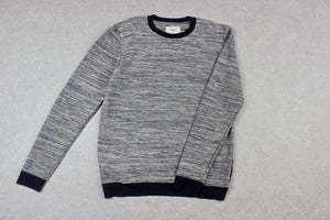 Folk - Knit Jumper - Navy Blue - 5/Extra Large