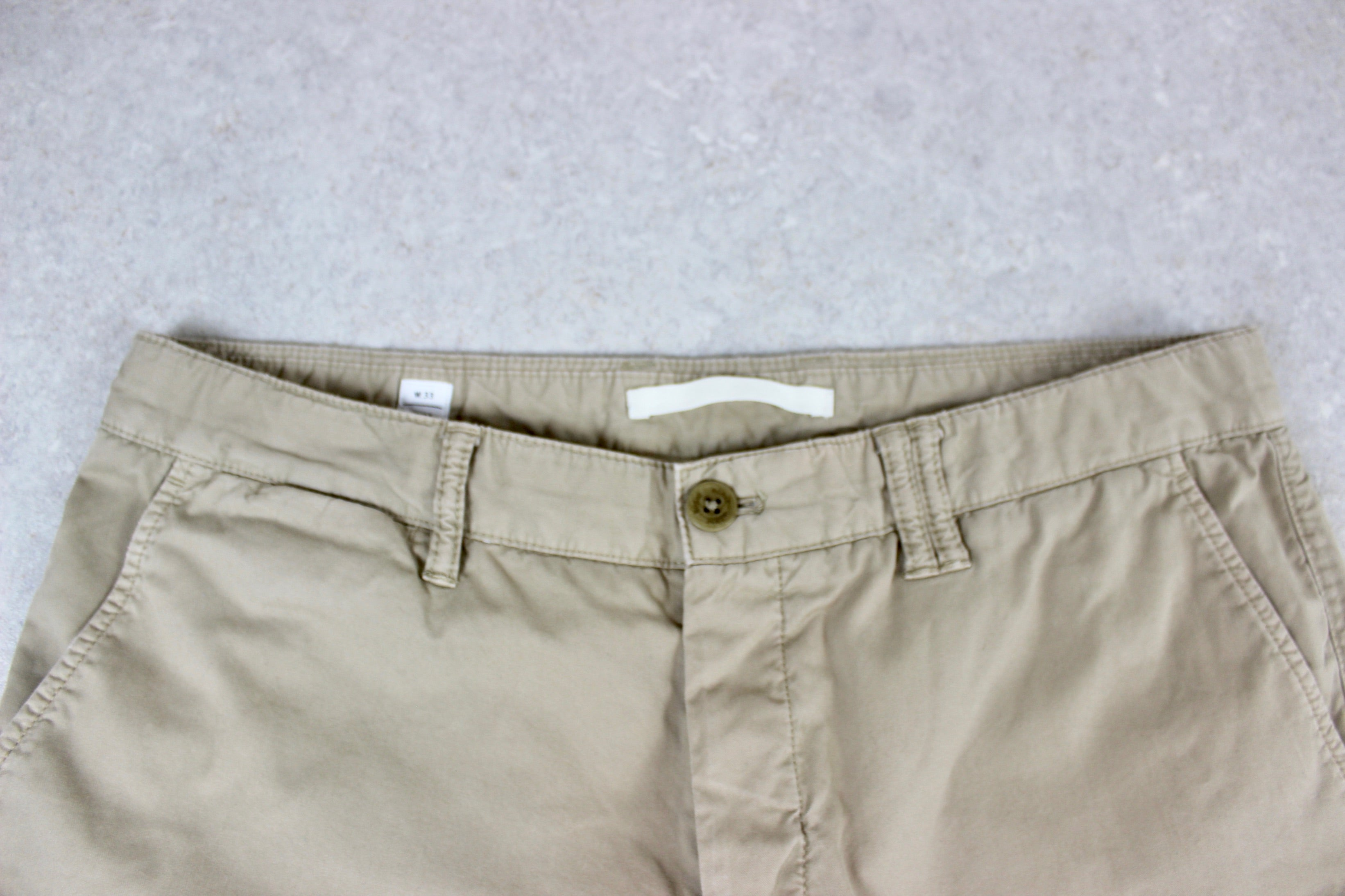 Norse Projects - Chino Trousers - Beige/Khaki - 33