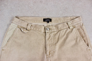 A.P.C. - Carpenter Workwear Trousers - Beige/Khaki - 32