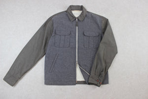 Universal Works - Jacket - Blue/Khaki - Medium