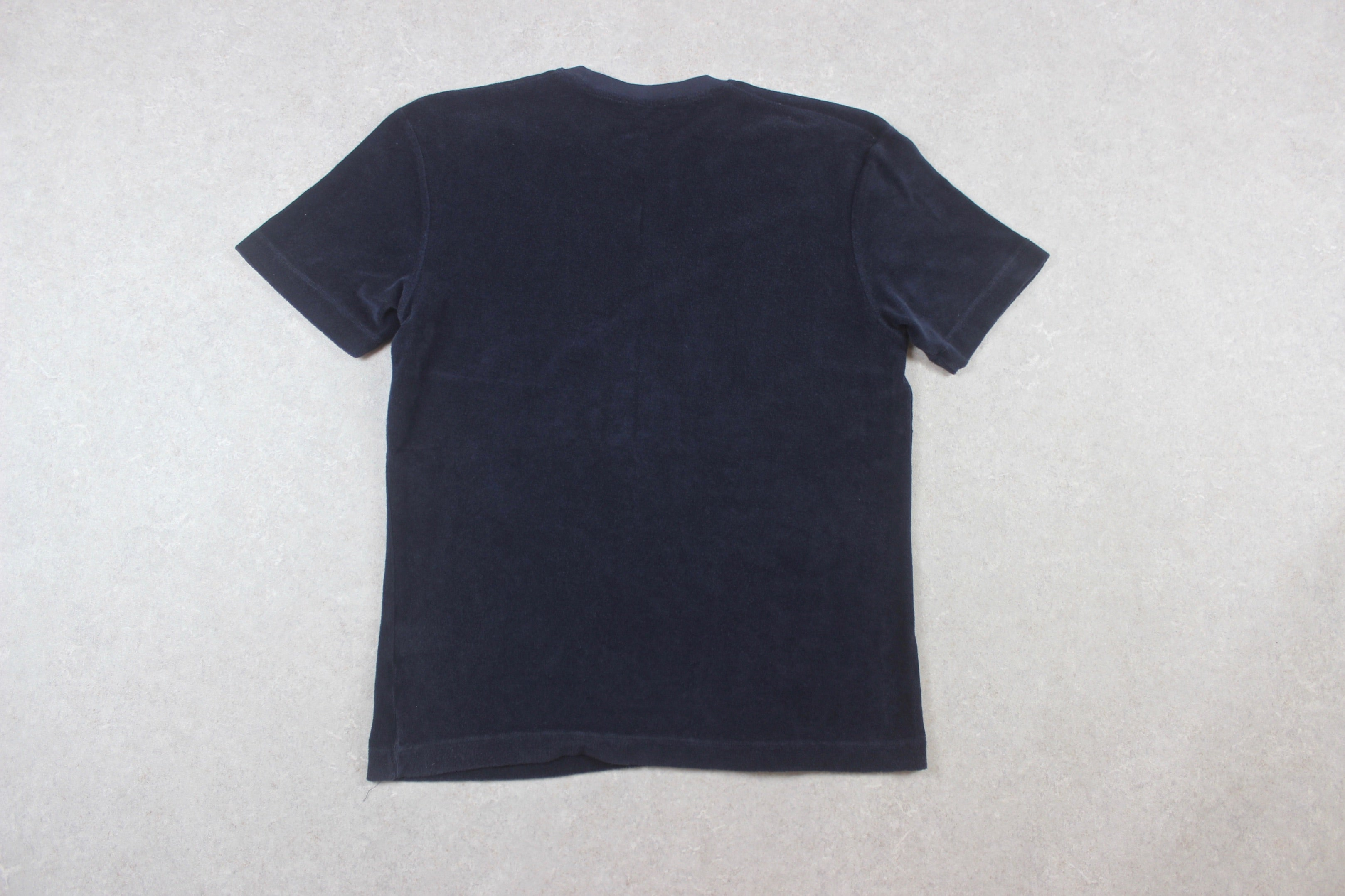 Sunspel - Towelling T Shirt - Navy Blue - Large