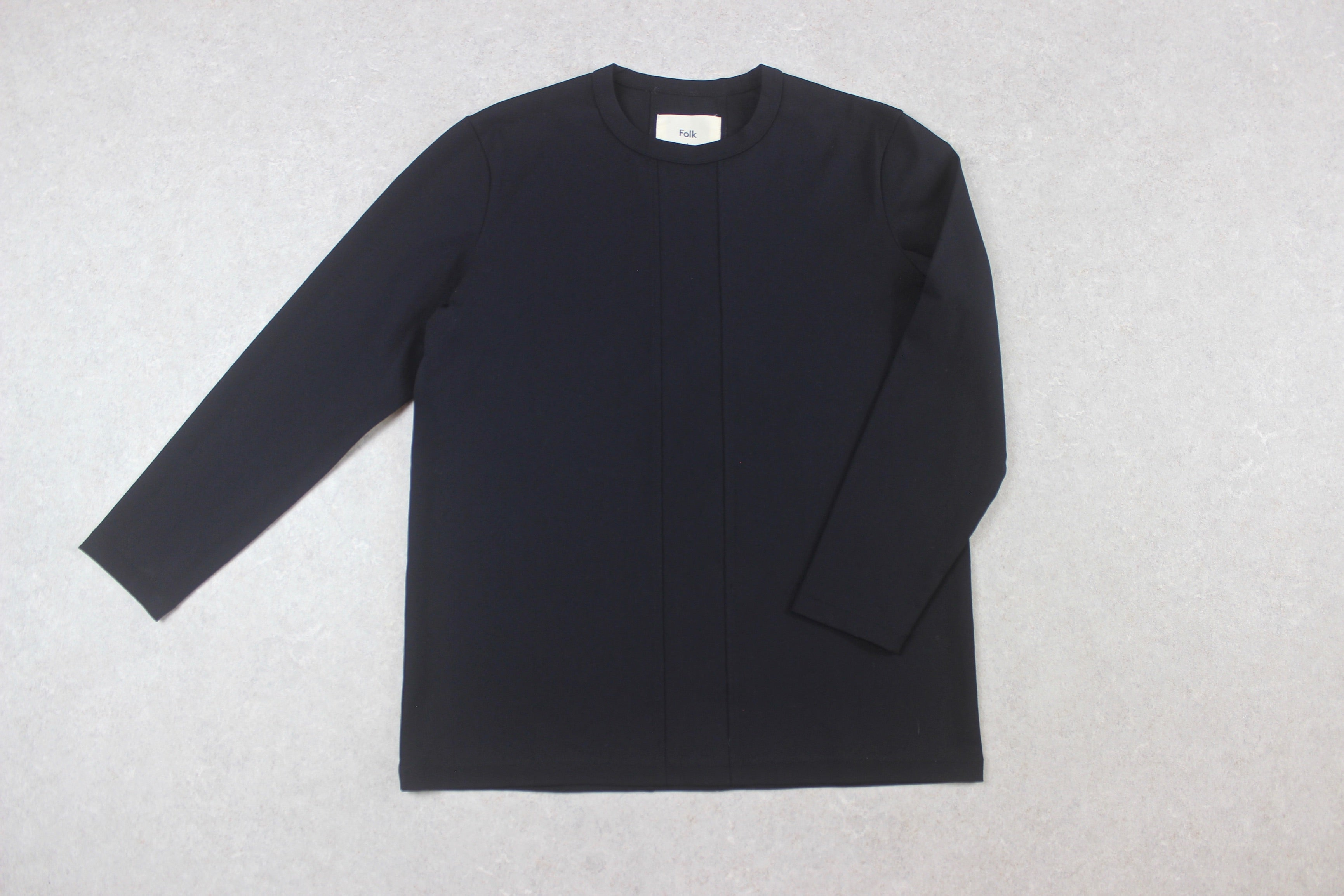 Folk - Nylon Jumper - Black - 1/Extra Small