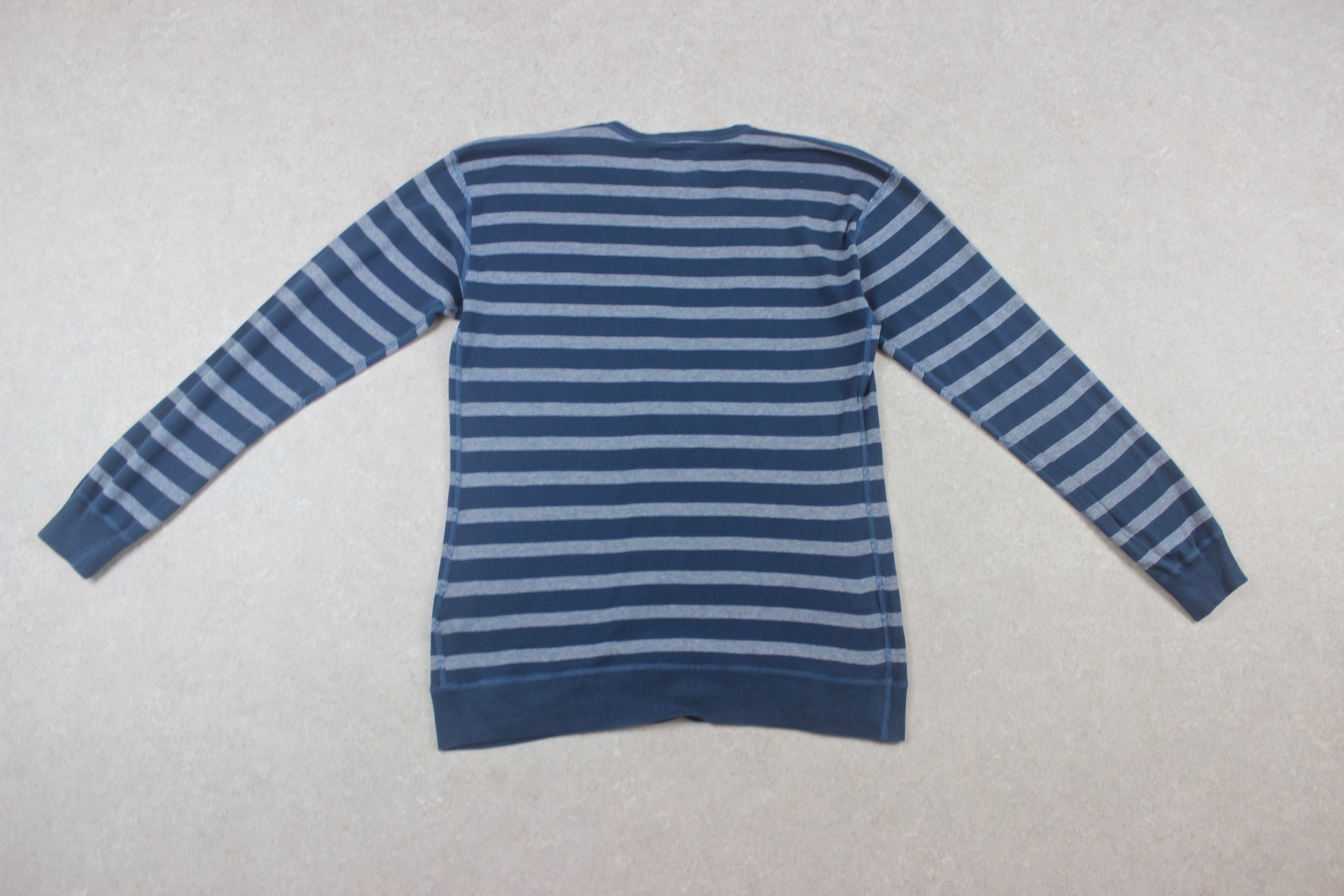 Norse Projects - Jumper - Blue Stripe - Medium