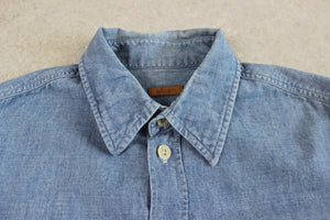 Albam - Denim Shirt - Blue - 0/Extra Small