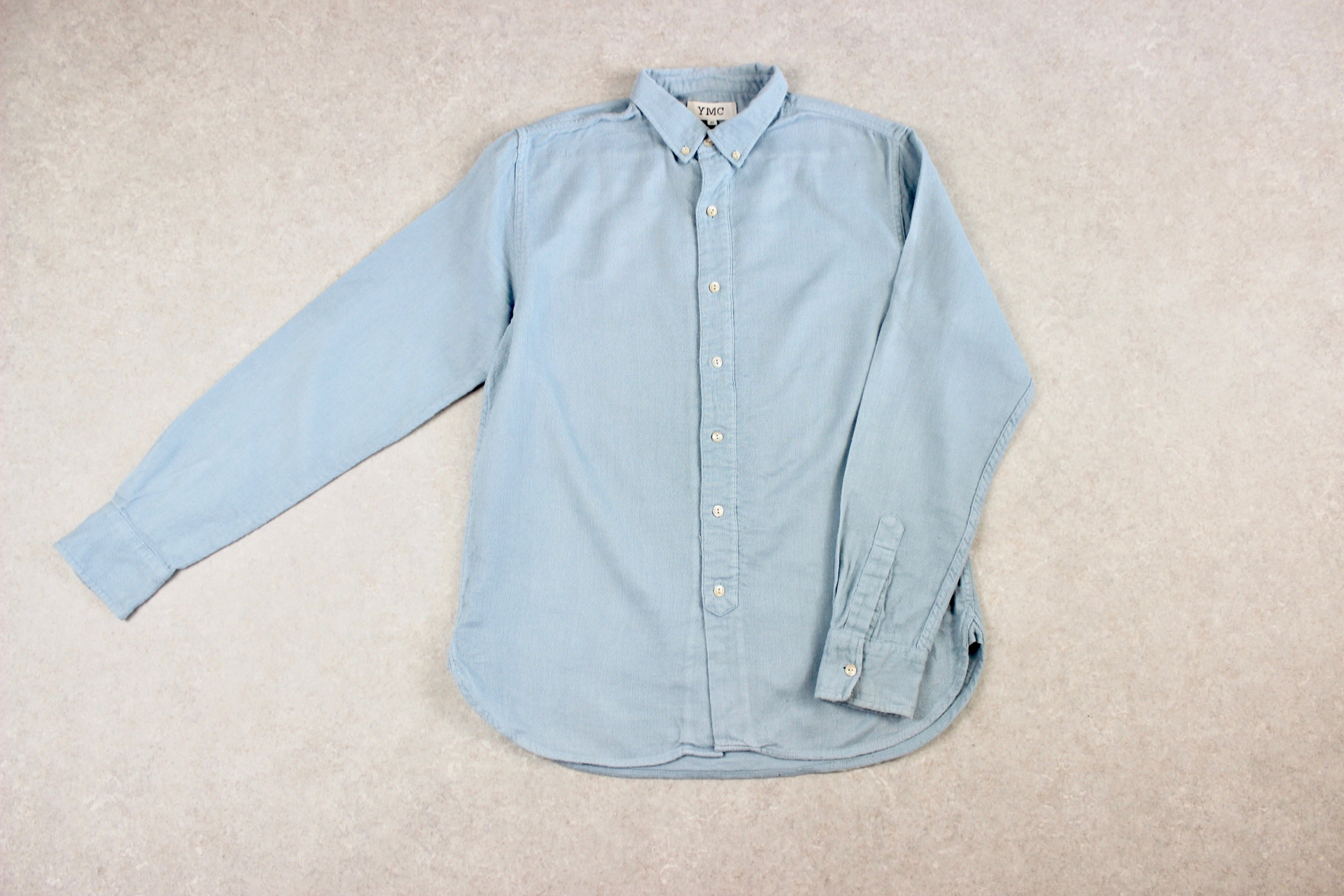 YMC - Shirt - Blue - Small