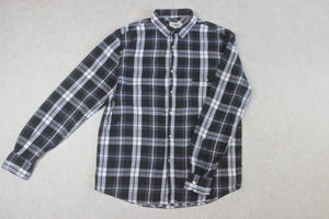 YMC - Shirt - Black/White Check - Large