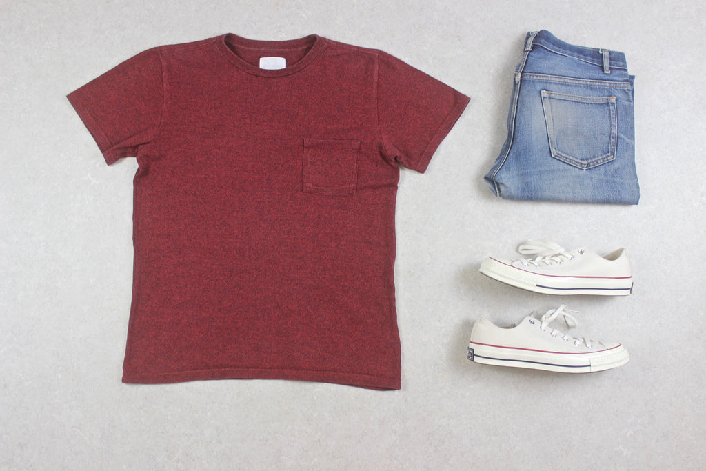 Saturdays NYC - T Shirt - Red - Small
