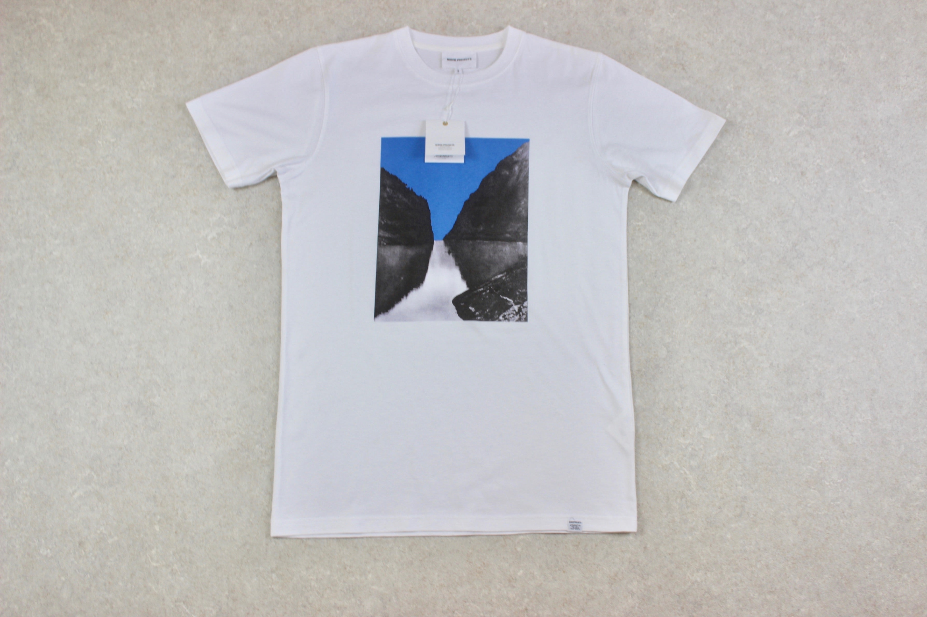Norse Projects - Niels T Shirt - White - Small - Brand New