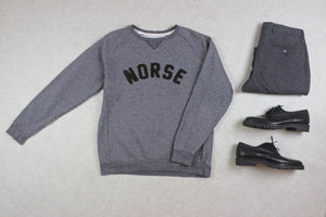 Norse Projects - Sweatshirt Jumper - Grey - Small