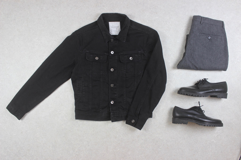 Saturdays NYC - Denim Jacket - Black - Medium