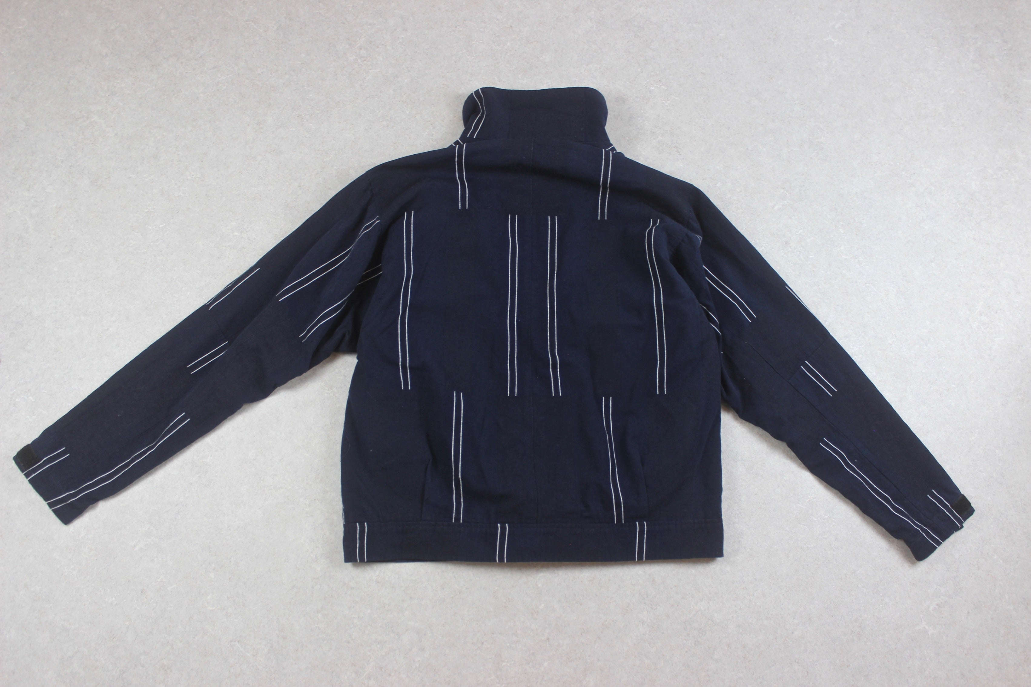 Oliver Spencer - Jacket - Navy Blue Stripe - 44/Extra Large