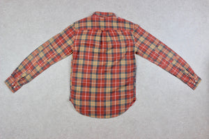 Albam - Shirt - Red/Yellow Check - 0/Extra Small