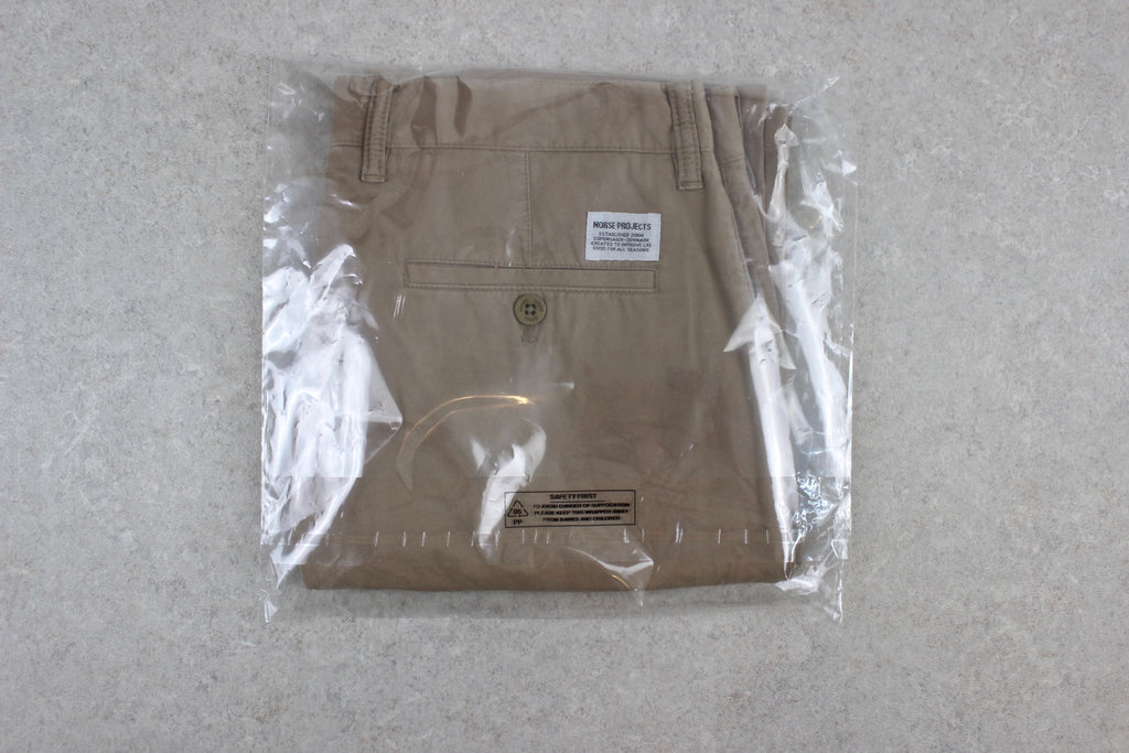 Norse Projects - Slim Chino Trousers - Beige Khaki - 30 - Brand New