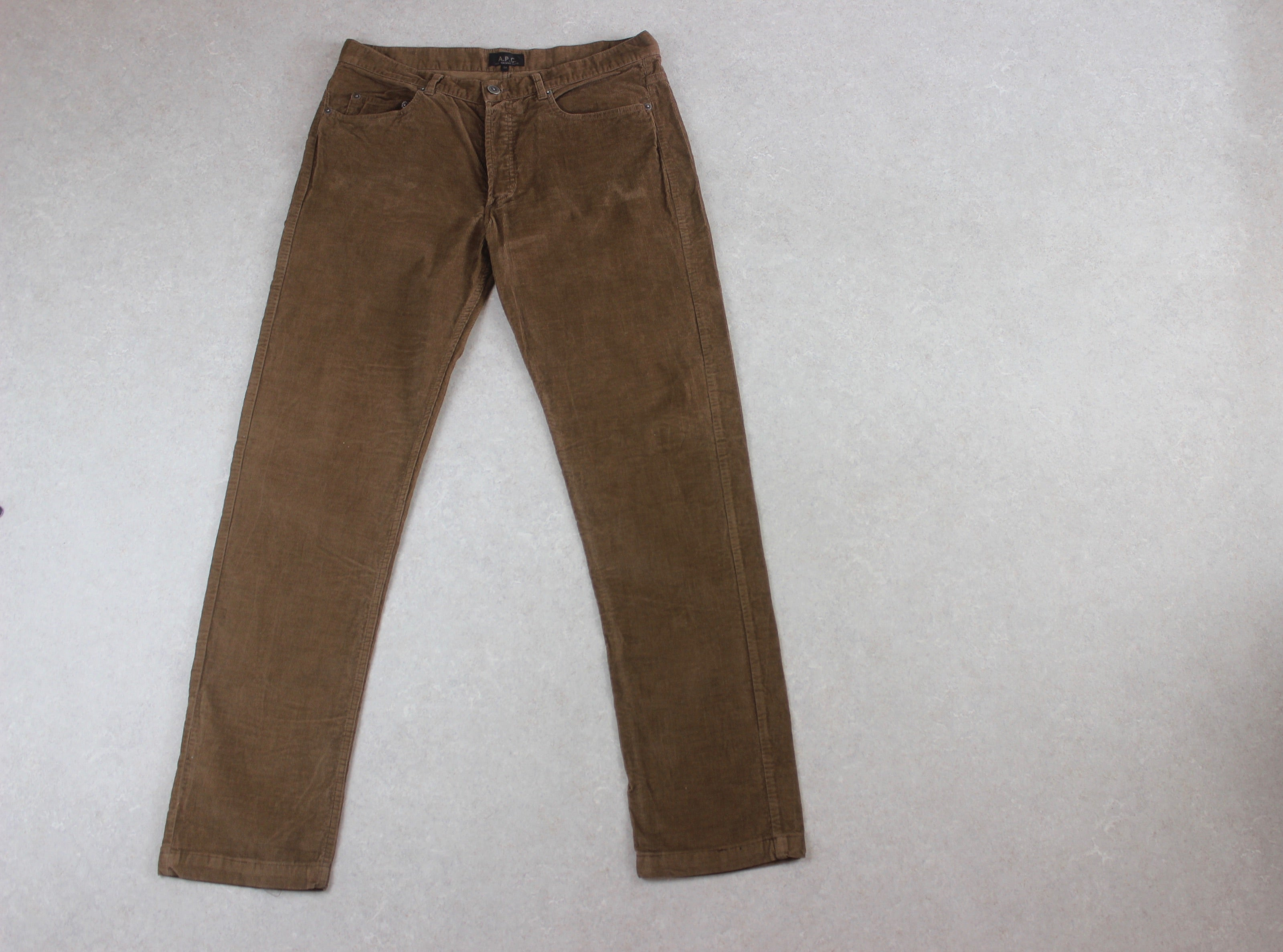 A.P.C. - Corduroy Trousers - Brown - 34