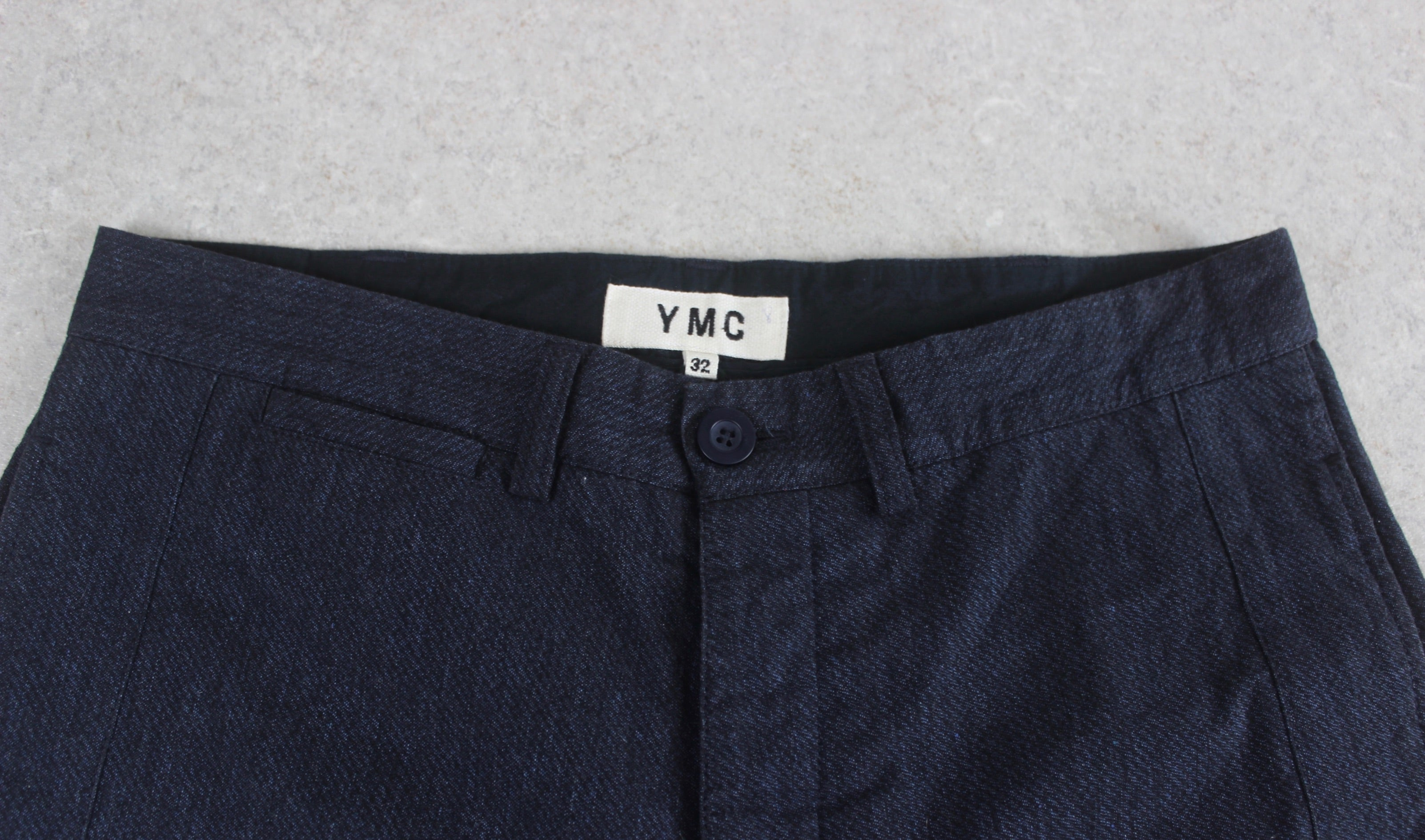YMC - Trousers - Blue - 32