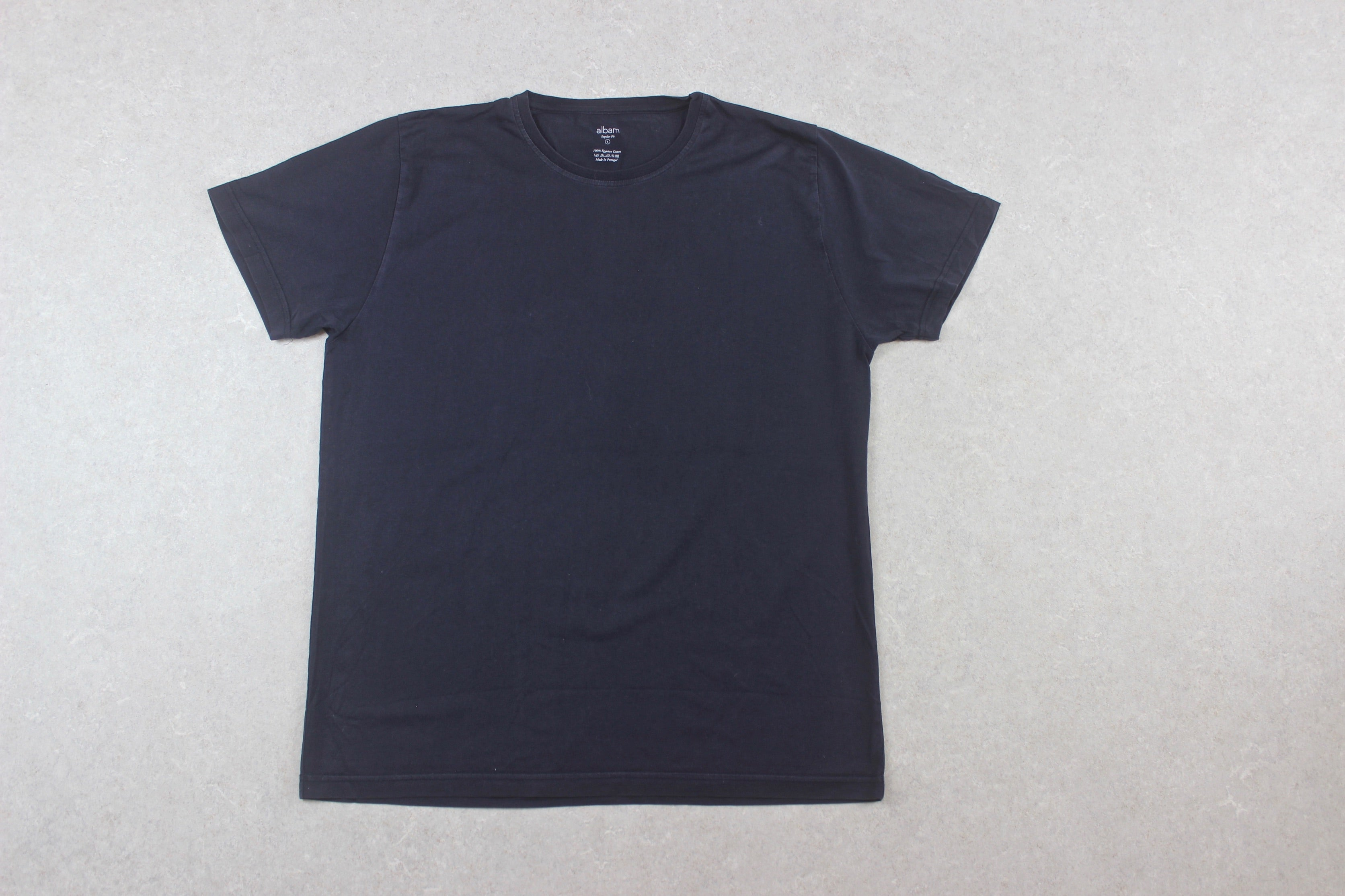 Albam - T Shirt - Navy Blue - 4/Extra Large