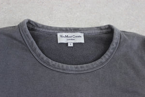 YMC - Sweatshirt Jumper - Grey - Large