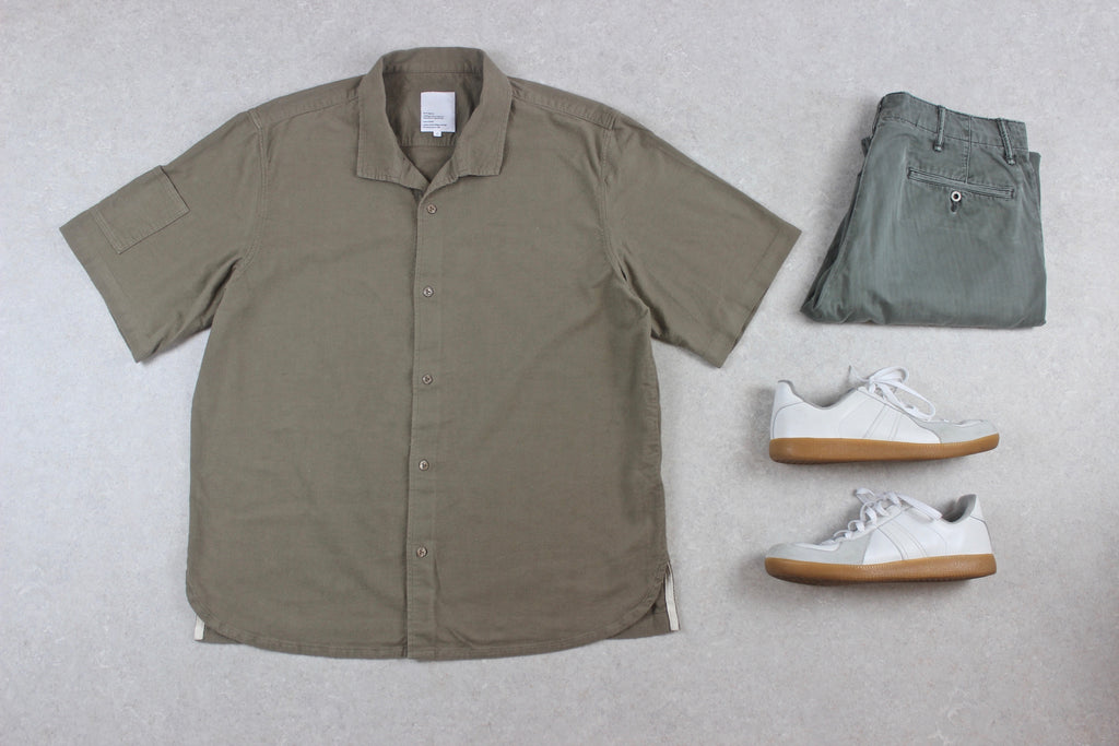 Garbstore - Shirt - Olive Green/Khaki - Extra Large