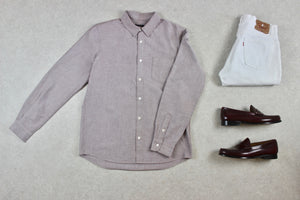 A.P.C. - Shirt - Pink - Small/Medium