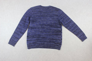 YMC - Merino Wool/Mohair Knit Jumper - Blue - Large
