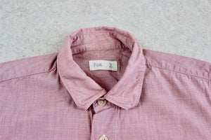 Folk - Short Sleeve Shirt - Pink - 2/Small
