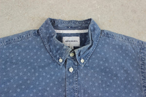 Norse Projects - Shirt - Blue Pattern - Large
