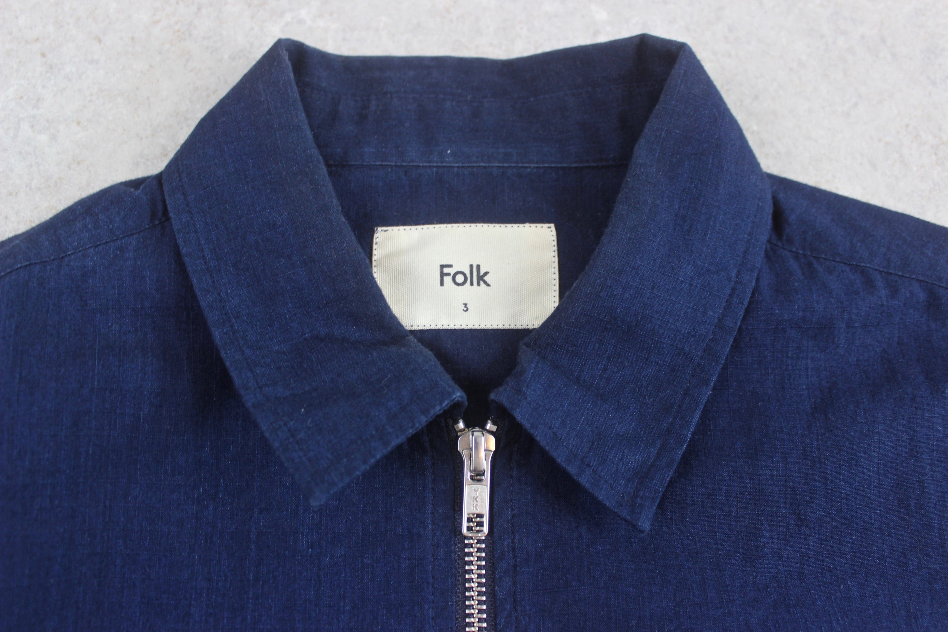 Folk - Jacket - Navy Blue - 3/Medium