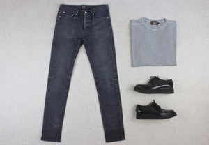 A.P.C. - Petit Standard Butler Jeans - Grey/Washed Black - 28