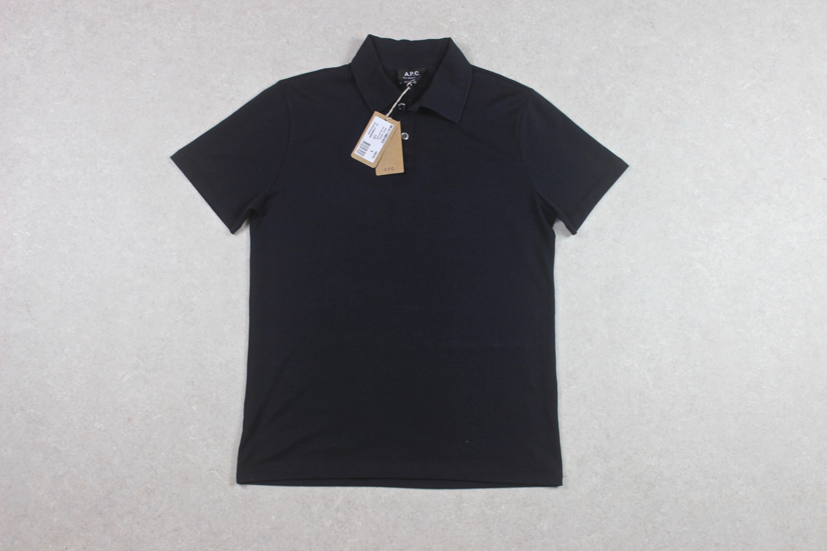 A.P.C. - Polo Shirt - Navy Blue - Small - Brand New