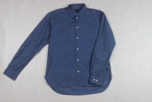 Albam - Shirt - Navy Blue Floral - 2/Medium