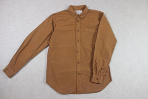 MHL Margaret Howell - Shirt - Orange/Brown - Extra Small