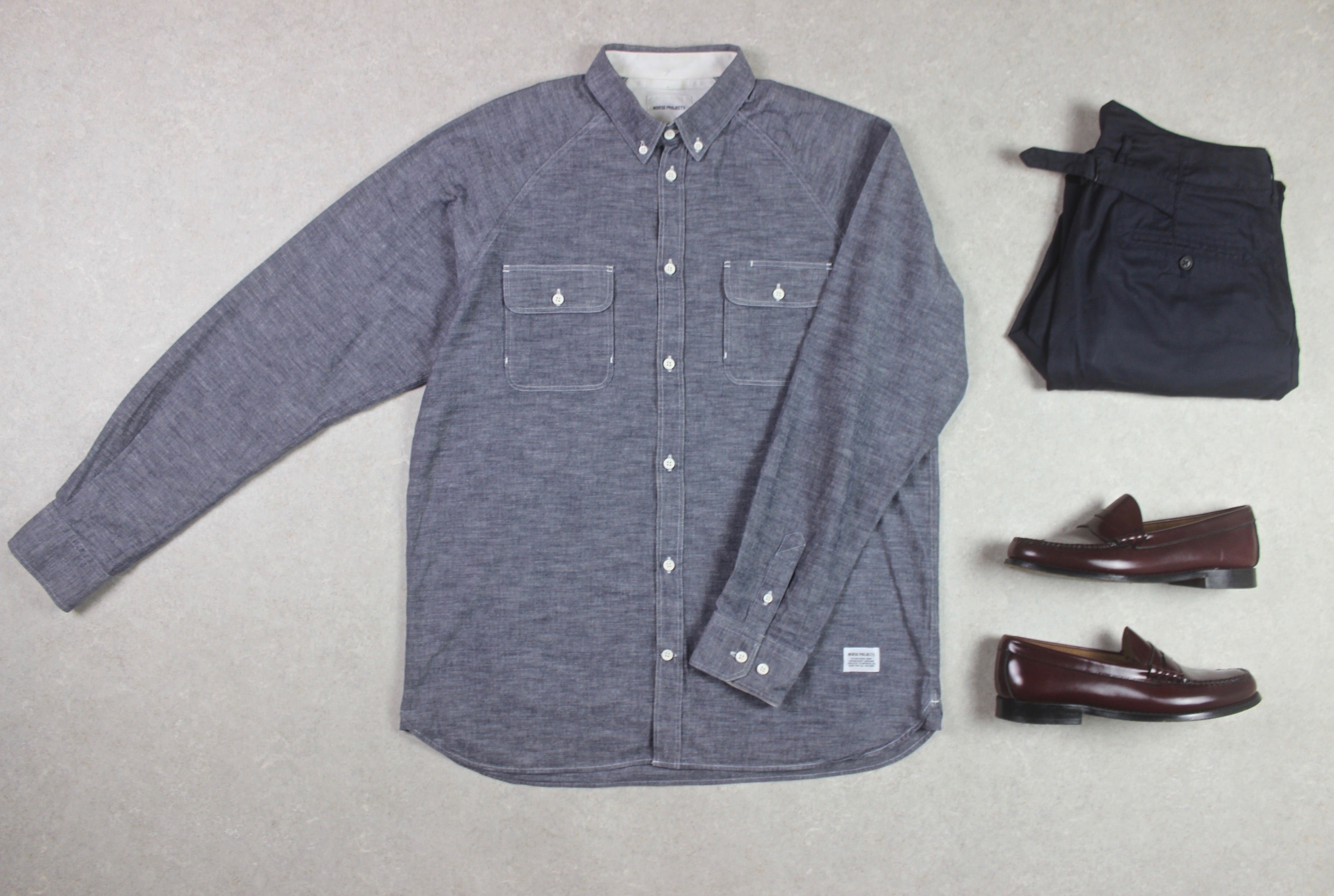 Norse Projects - Shirt - Grey - Large