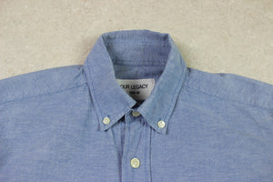 Our Legacy - Shirt - Blue - 44/Extra Small