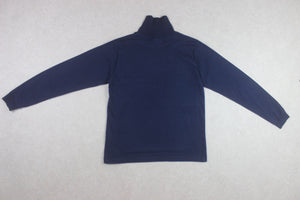 Beams Plus - Roll Turtle Neck Jumper - Navy Blue - Small