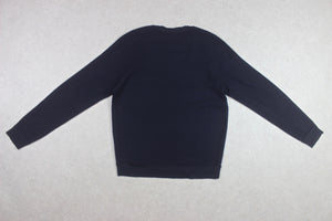 Folk - Merino Wool Jumper - Navy Blue - 3/Medium
