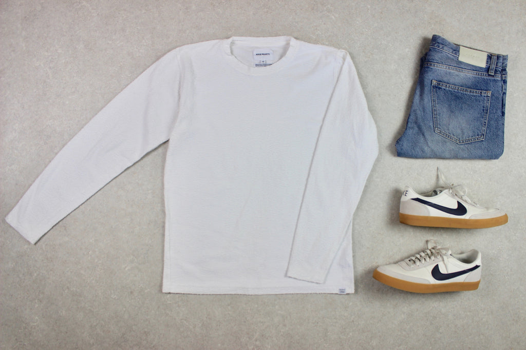 Norse Projects - Sweatshirt Jumper - White - Medium