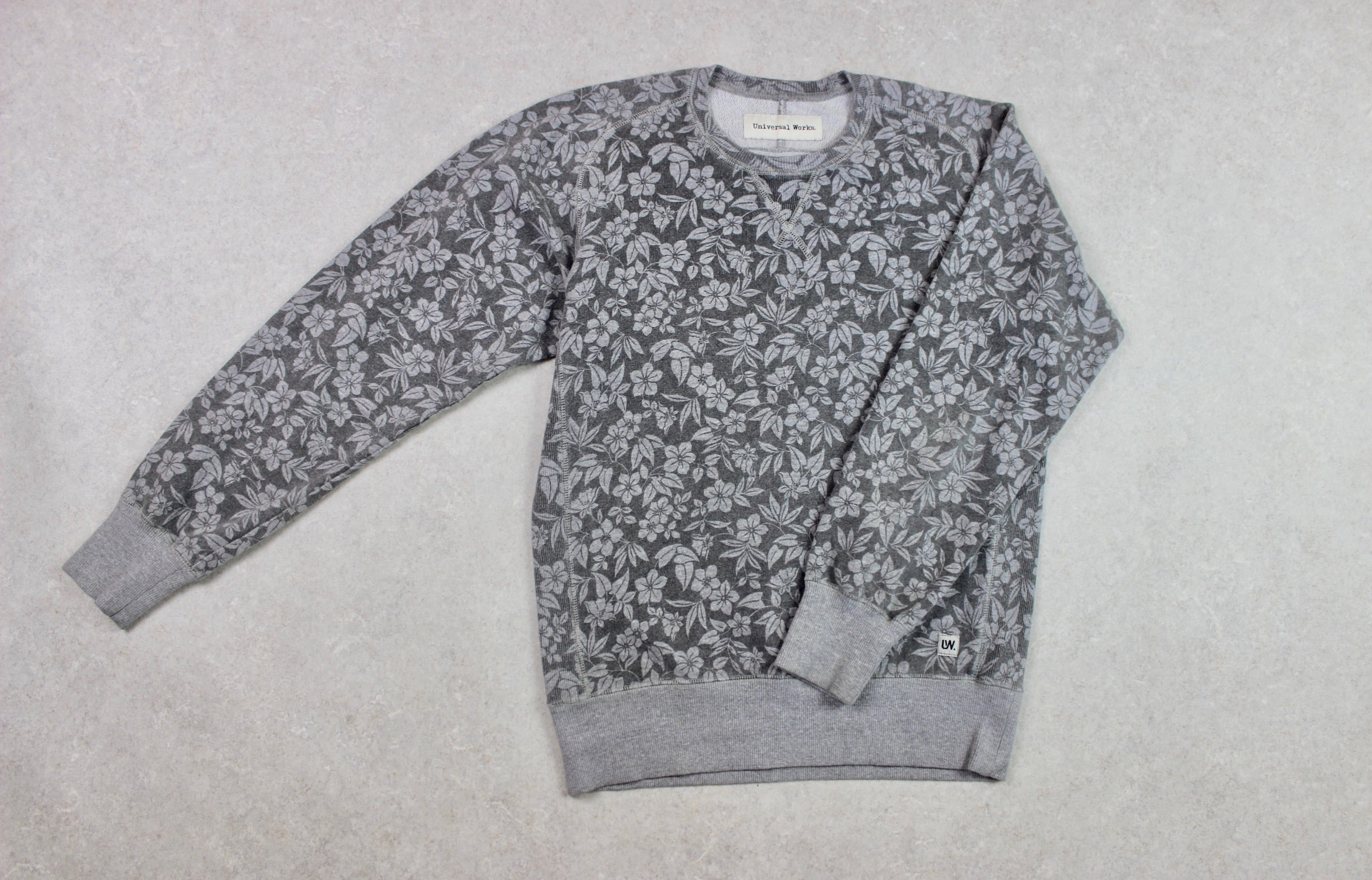 Universal Works - Sweatshirt Jumper - Grey - Small