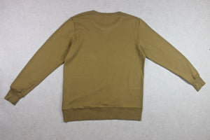 YMC - Sweatshirt Jumper - Mustard Brown - Large