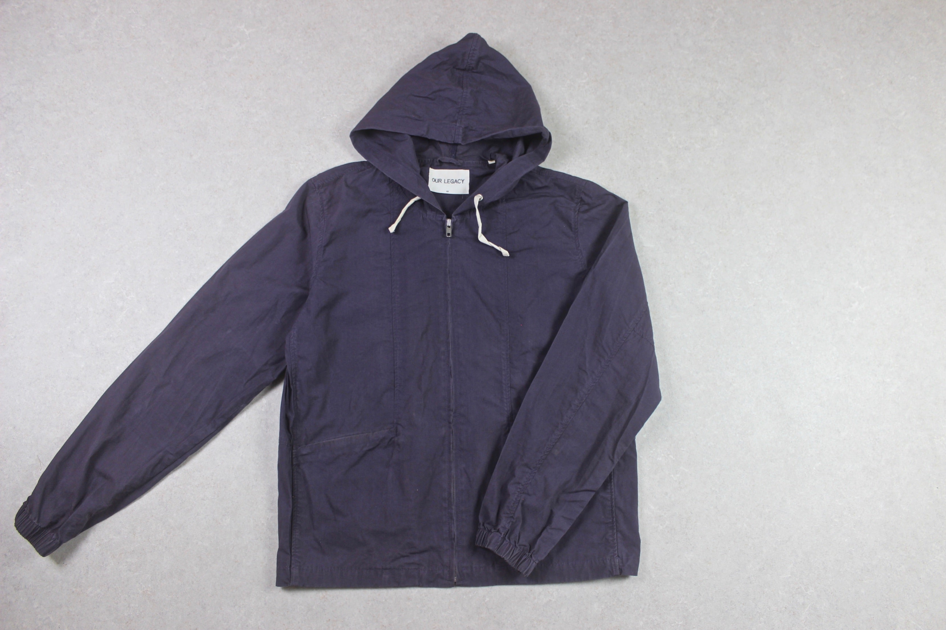 Our Legacy - Rain Coat Jacket - Purple/Blue - 48/Medium