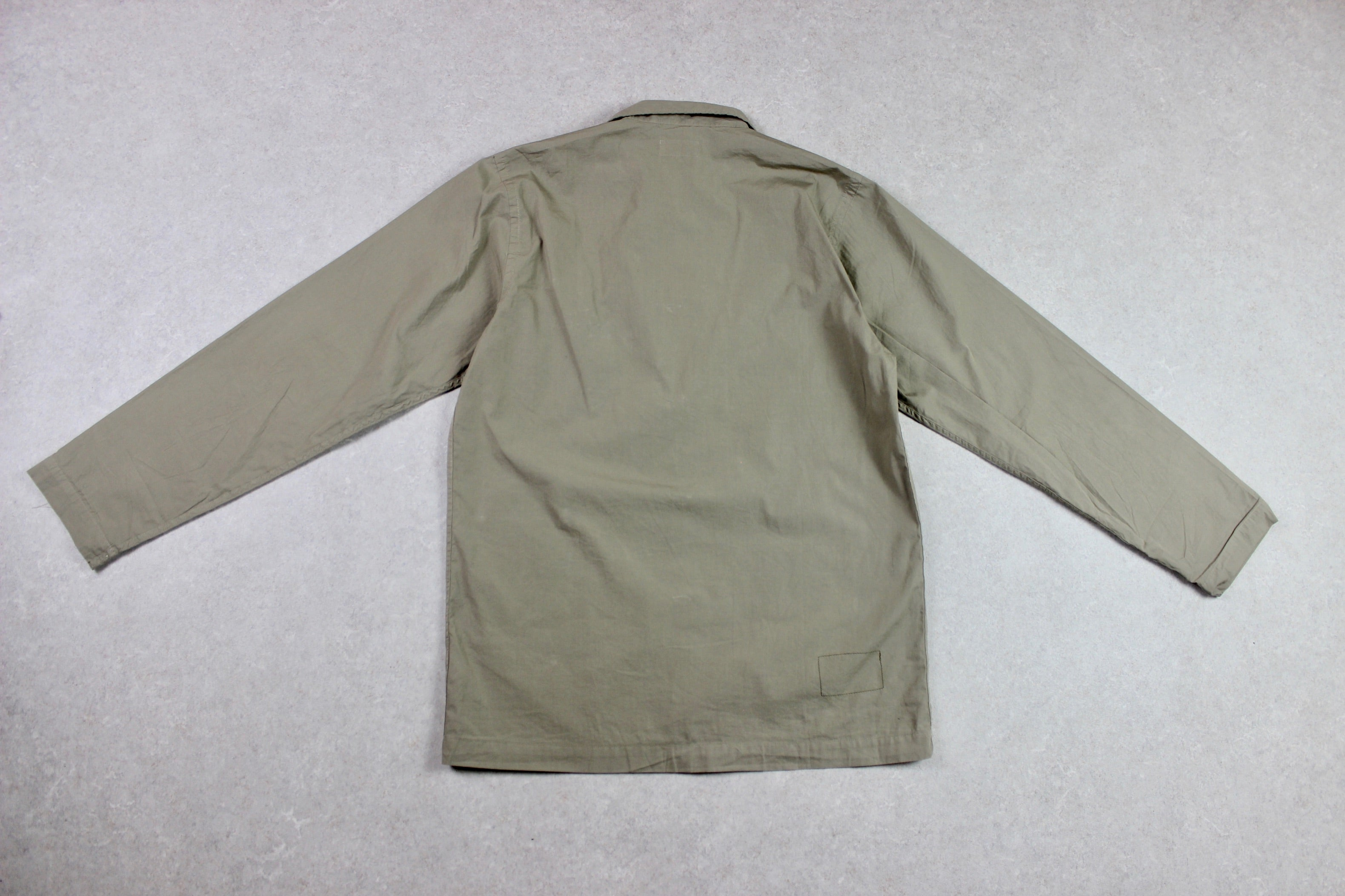 Universal Works - Chore Coat Jacket - Beige/Khaki - Small