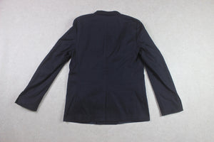 Folk - Double Breasted Blazer Jacket - Navy Blue - 4/Large - Brand New