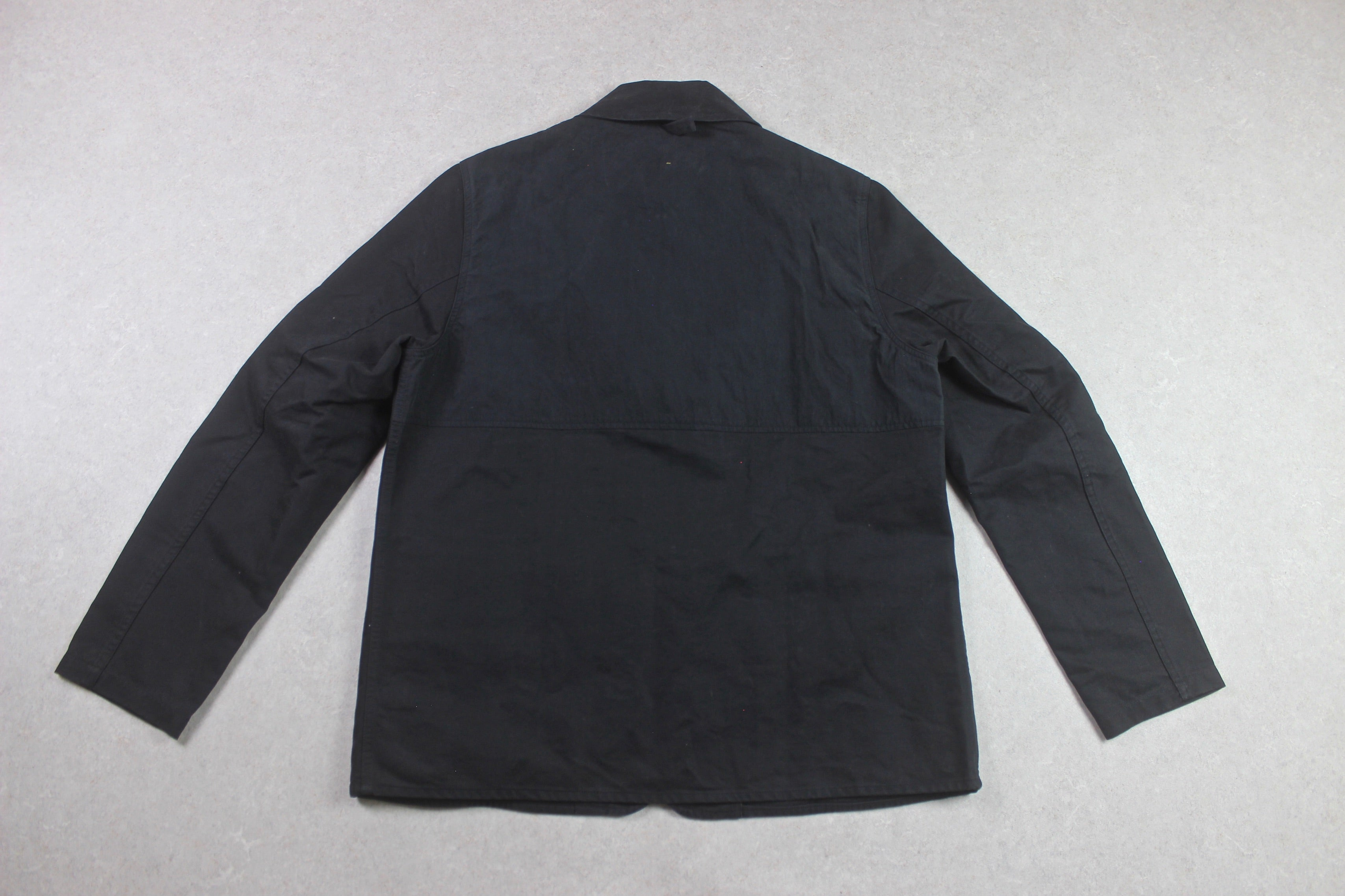 MHL Margaret Howell - Black Cotton Drill Jacket - Black - Medium - Brand New